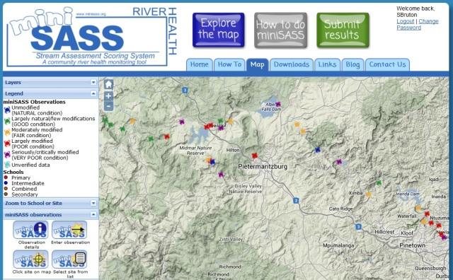 mini sass map